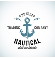 Simple Anchor Retro Logo Template For Any Kind of vector image