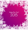 Shiny Happy New Year background vector image