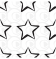 Abstract star pattern A seamless background vector image vector image