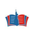 America USA logo icon vector image vector image