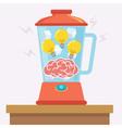 Idea Brain Mix vector image vector image
