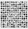 Large Icon Set vector image vector image