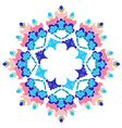 Ottoman motifs design series with two version vector image vector image