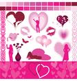 valentine design aids vector image vector image