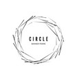 circle abstract modern banner geometric shape vector image