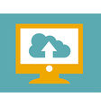 cloud design vector image vector image