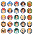 professions icons set1 1 vector image vector image