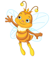 Queen bee showing vector image