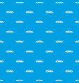 taxi pattern seamless blue vector image vector image
