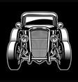 vintage old ancient car vector image vector image