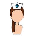 beutiful nurse shirtless avatar character vector image vector image