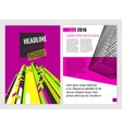 Business Brochure Template vector image vector image