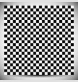 checkered geometric pattern abstract uncolored vector image
