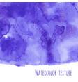 navy blue indigo watercolor texture vector image vector image