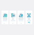 positive thinking personal career growth ux ui vector image