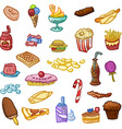 Unhealthy Food vector image