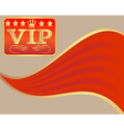 VIP Sign vector image vector image