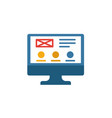 web design icon simple flat element from design vector image vector image