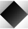 abstract geometrical monochrome seamless dot vector image vector image