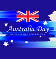australia day banner for australia national day vector image