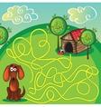 Cartoon of Education Maze vector image vector image