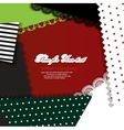 creative crafts background vector image vector image