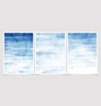 dark blue watercolor splash background wedding vector image vector image