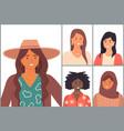 diverse nations ethnicity latin hispanic vector image vector image