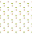 pot tree pattern vector image vector image