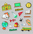 School and education badges patches stickers