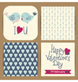 cards templates set vector image vector image