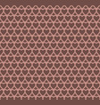 chocolate heart design pattern background vector image vector image