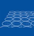group of oil barrels rendering of 3d vector image