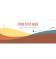 modern header website abstract background vector image vector image