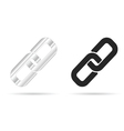 paperclip tool vector image vector image