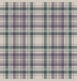 pastel color check plaid seamless fabric texture vector image