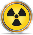 Radiation icon vector image vector image