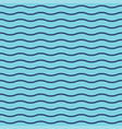 wavy stripes seamless background thin waves vector image vector image