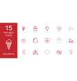 15 colorful icons