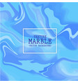 blue texture marble vector image vector image