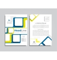 Brochure layout with place for your data