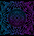 decorative background with colourful mandala vector image vector image