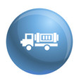 eco truck icon simple style vector image