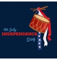 Happy 4th of July Independence Day Design vector image vector image
