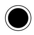 record icon vector image vector image