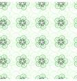 seamlee green pattern vector image vector image