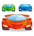 car color vector image vector image