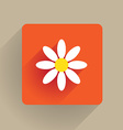 Flower Flat vector image