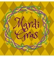 Mardy gras yellow background