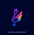 music goose template vector image